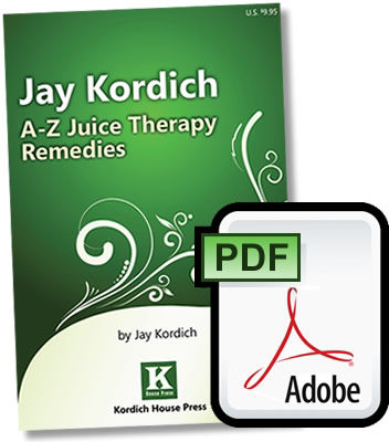 Juice Therapy Remedies, A to Z Digital Version