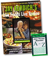 Live Foods Live Bodies, Hardcover Edition By Jay and Linda Kordich