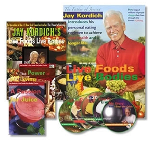 Jay and Linda Kordich's LIVING Health Program!  Lowest PRICE Anywhere! Free Shipping!