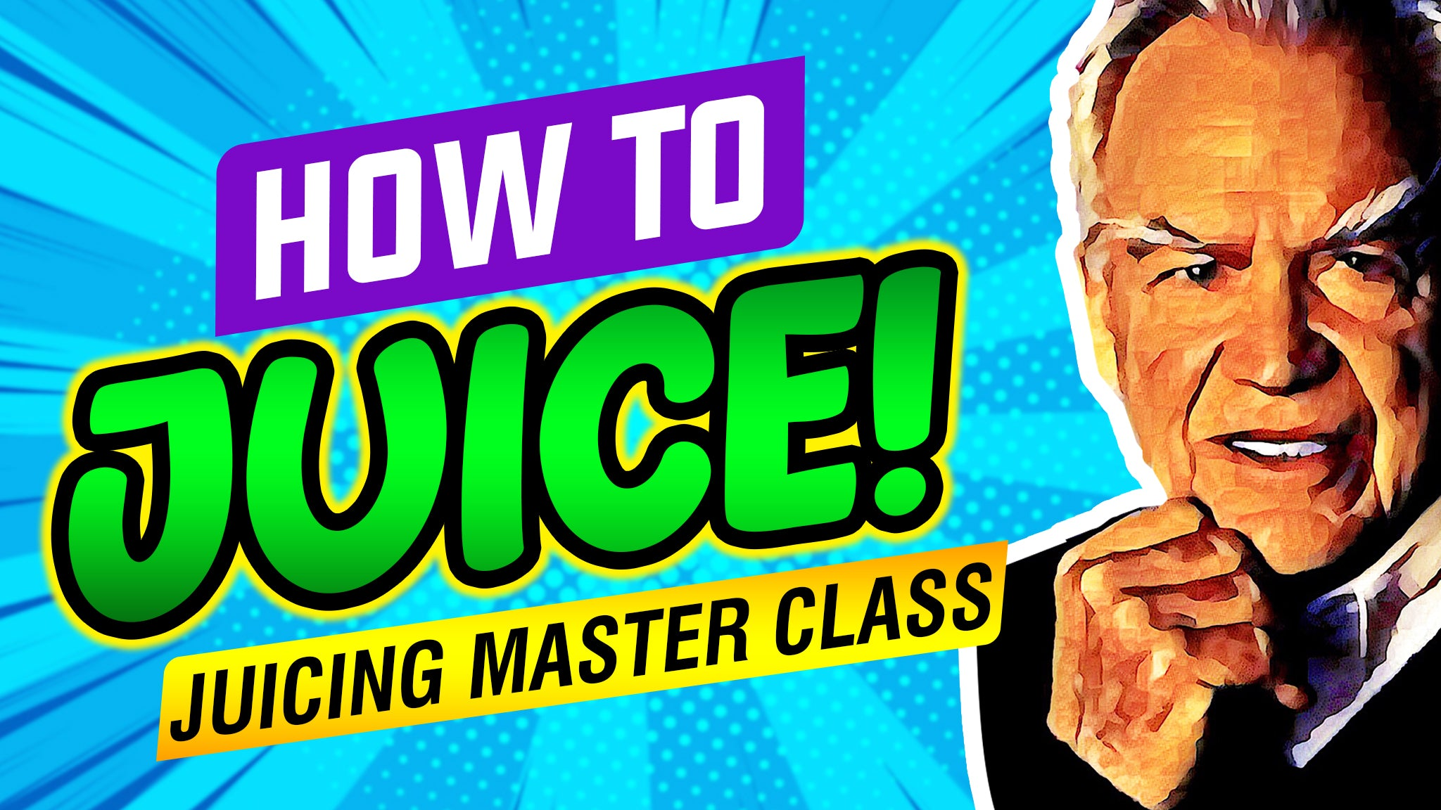 The Juicing Master Class - Lowest price this month!  Valued at $1,000.00
