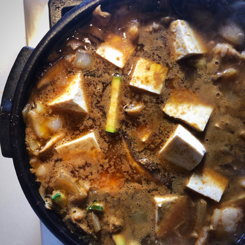 Hearty Doenjang 'Jjigae' Stew
