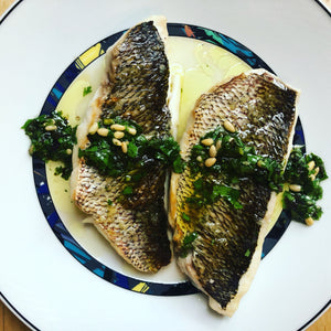 Snapper with Herb Vinaigrette