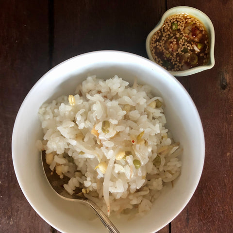 One Pot Meal: Bean Sprouts Rice
