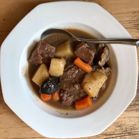 Beef Stew with Vinegar and Soy Sauce