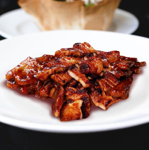 korean recipe sweet spicy gochujang pork gochujang fermented red pepper paste infrared-roasted sesame oil hoy ginkgo vinegar muesli plum vinegar brown rice vinegar ganging korean soy sauce