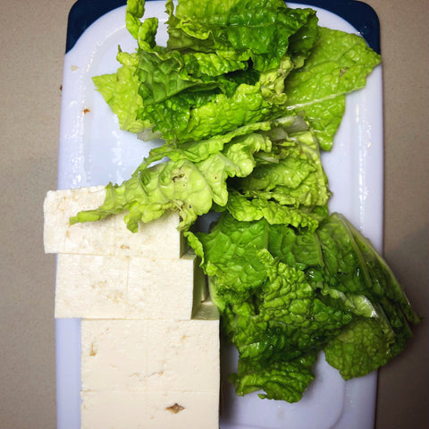 lettuce tofu recipe