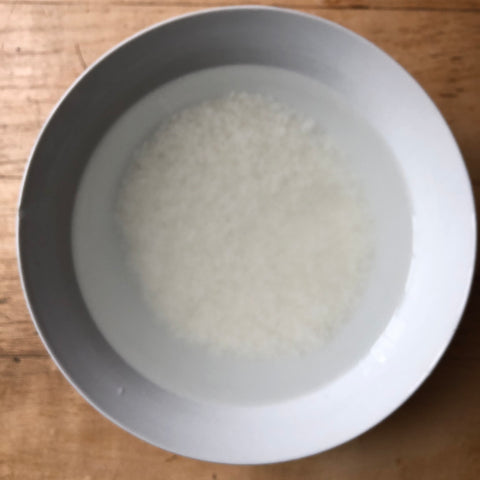 korean recipe congee infrared-roasted perilla oil korean seaweed salt