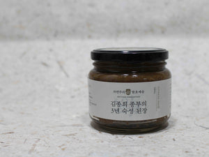 doenjang fermented soybean paste natural backkground 4x3