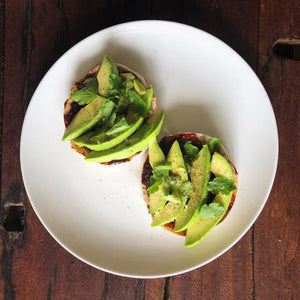 avocado toast gochujang recipe