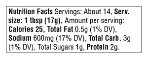 ssamjang nutrition facts