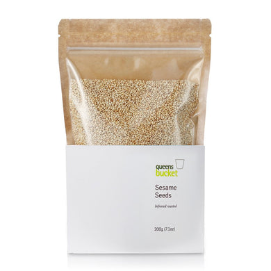 Queens Bucket Infrared-Roasted Sesame Seeds - Gotham Grove