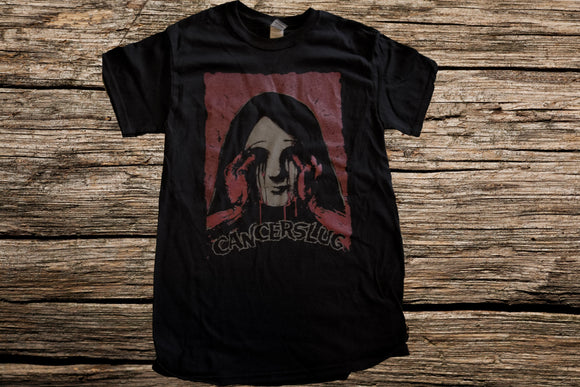 Cancerslug -Bleeding Eyes Mens T Shirt