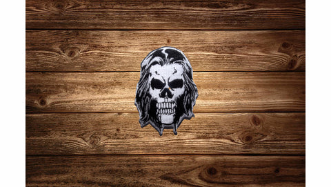 Alex Story Skull Logo Patch