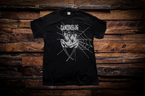 Cancerslug -Black Widow Mens T Shirt