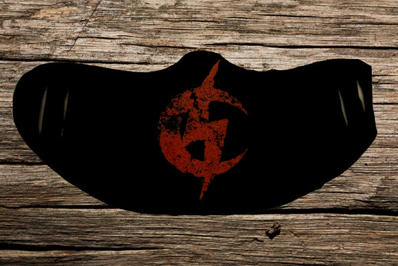 Cancerslug Red Logo Mask