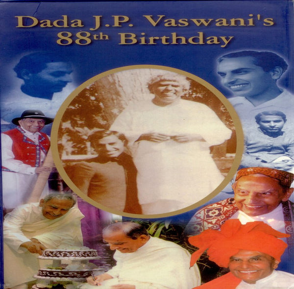 Audio-CD / English / Bhajans / Dada J.P. Vaswani's 88th Birthday CD (3 in 1 CD)