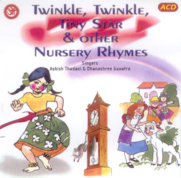 Audio-CD / English / Bhajans / Twinkle Twinkle Tiny Stars and Other Nursery Rhymes