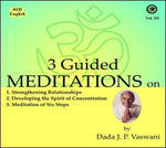 Audio-CD / English / Lectures / 3 Guided Meditations (Vol.3)