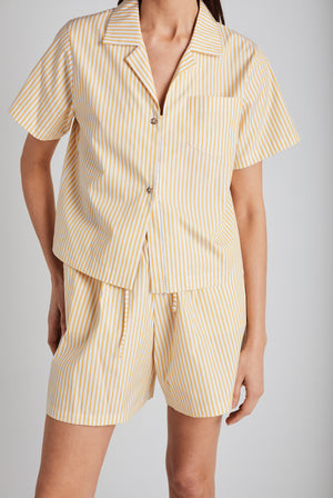 Yellow Stripe Havana Top - Still Here New York