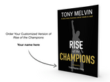 CUSTOMIZED BOOK: Rise of the Champions Customized Copy & One Box of 68