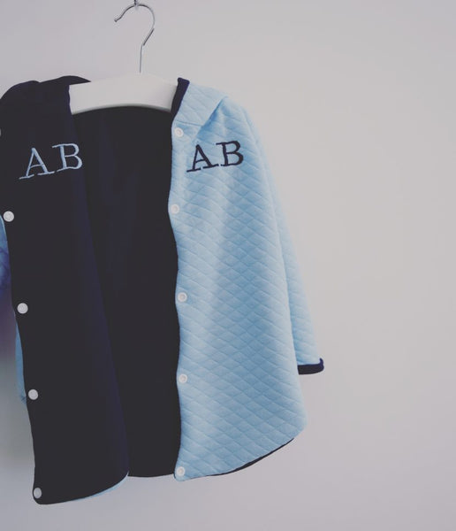 Jacket Quilted/Plain Reversible Long Sleeve