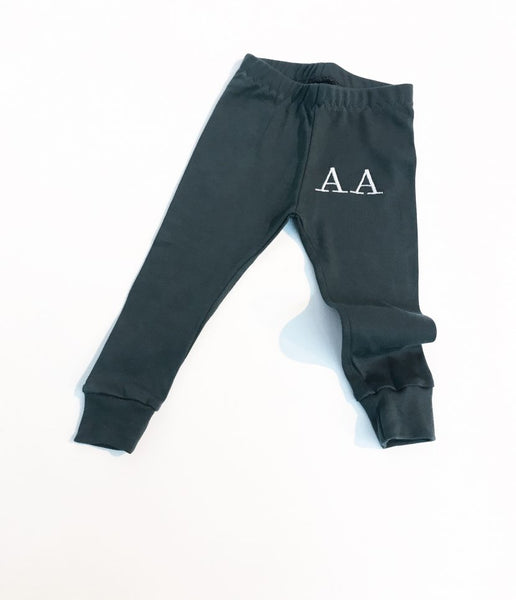 Fleece Backed Slim Fit Bottoms