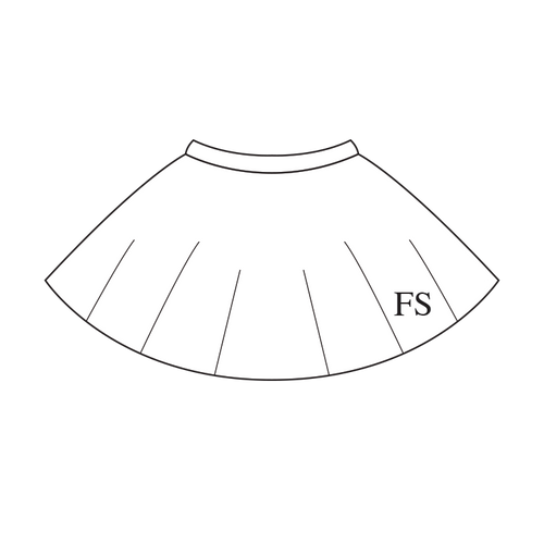 100% Cotton Circle Skirt