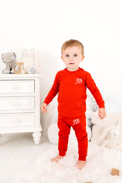 Red Loungesuit