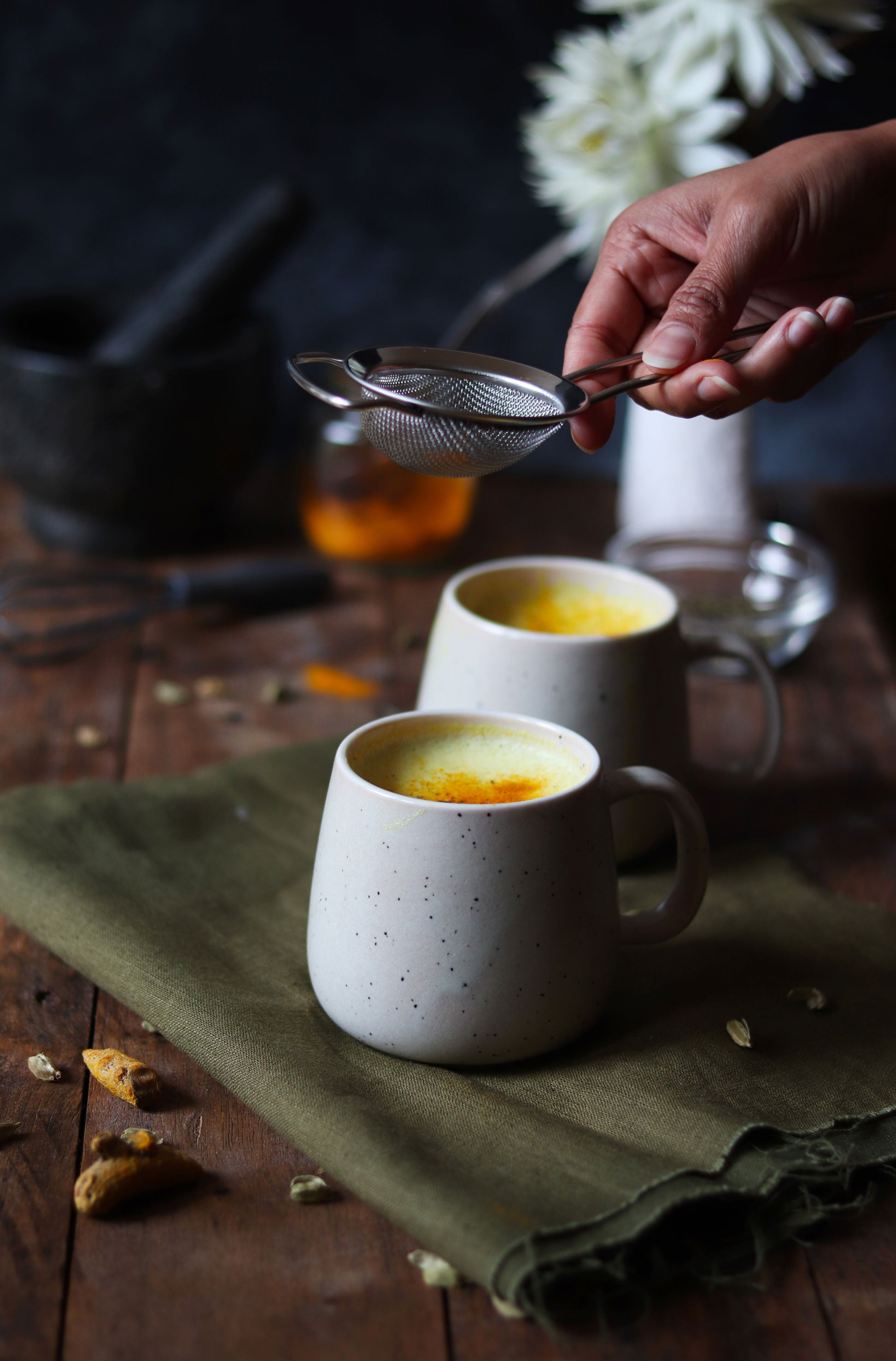 Nunaia Wellness Series Turmeric latte Recipe
