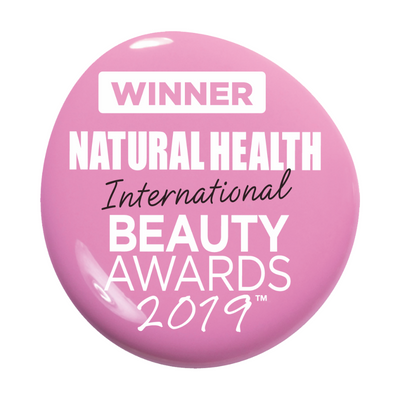 Nunaia wins 'Best Facial Oil 2019' at the Natural Health International Beauty Awards 2019.