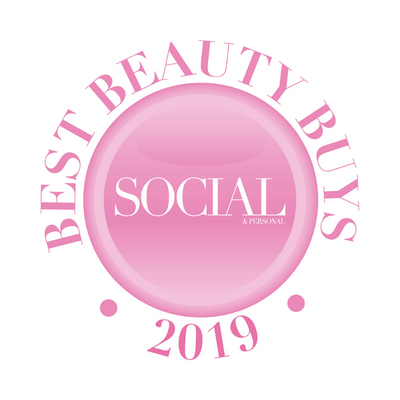 Nunaia wins 'Best beauty Buys' at Social & Personal Awards 2019