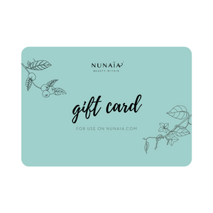 Nunaia Beauty Gift card