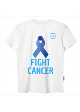 FIGHT CANCER - DARK BLUE