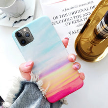 Moskado Phone Case Luxury Glossy Granite Stone Marble Texture Cover