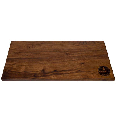 Radiate Campfire Black Walnut Cutting Board - Made in USA- 8 X 17 X .75