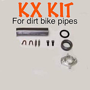 Bianchi Header Kit (KX DIRT BIKE PIPE)