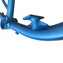 Gas Frame w/fuel tank 3.75L - Blue