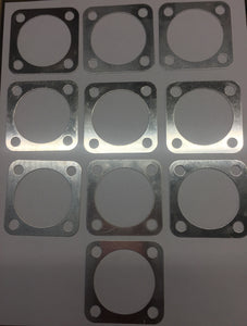 Motorized Motor Bicycle Cylinder Head Top Gaskets For 80cc Gas Engine Part