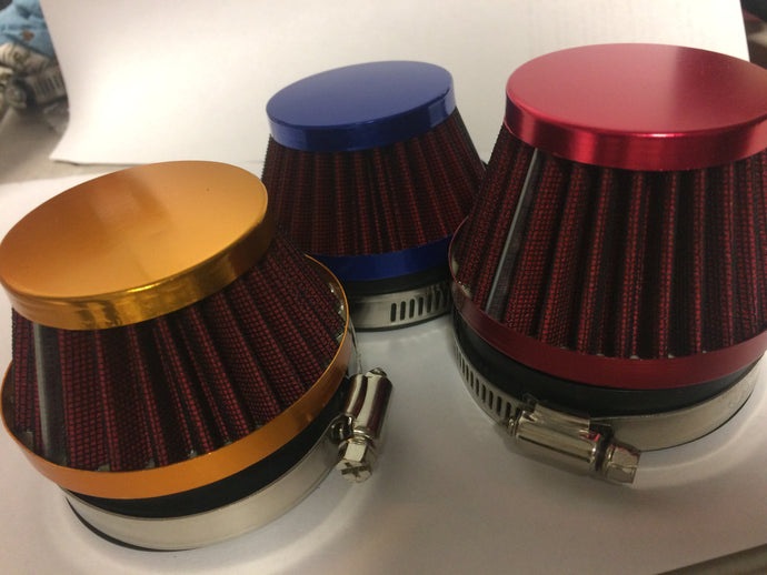 Famous Carb Filters, 40 or 60mm, various colors