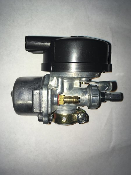 Stock carb for motorized bicycle