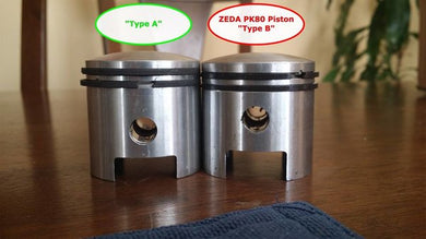 Type A Low Pin piston (short rod motors)