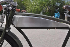 Stainless steel tank for Panther Straight Bar bike