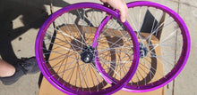 Motorcycle wheel / Bicycle wheel conversion