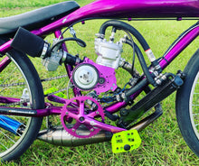 Robs Purple bike with AM6 WATERCOOLED