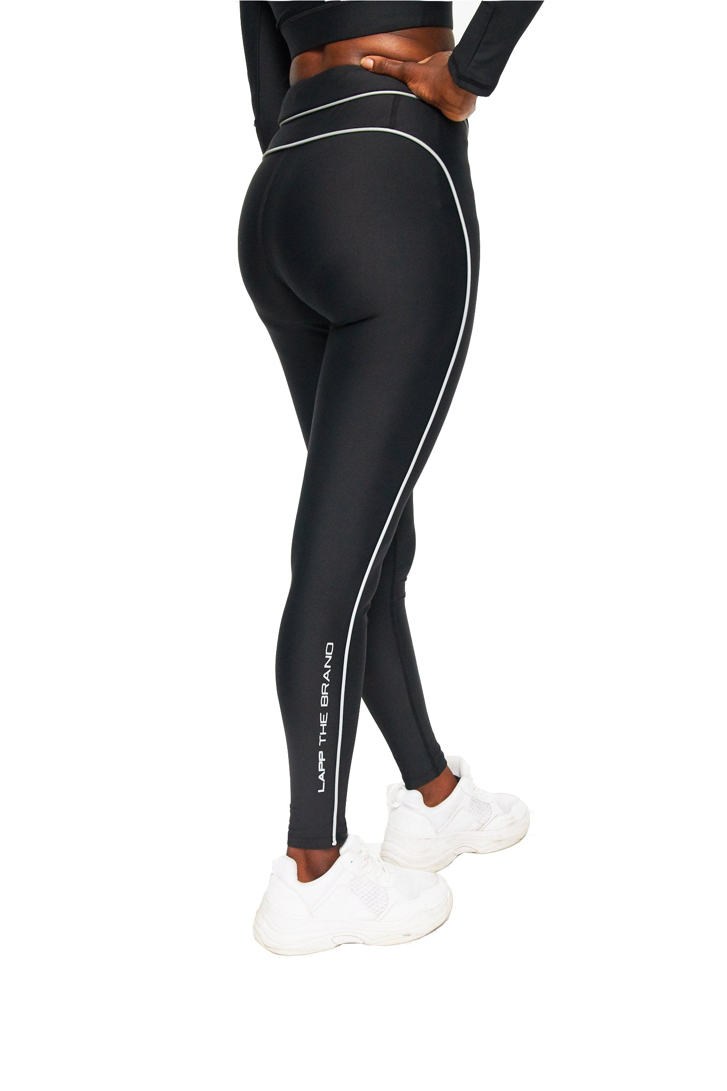 V front compression legging [3m/ black]