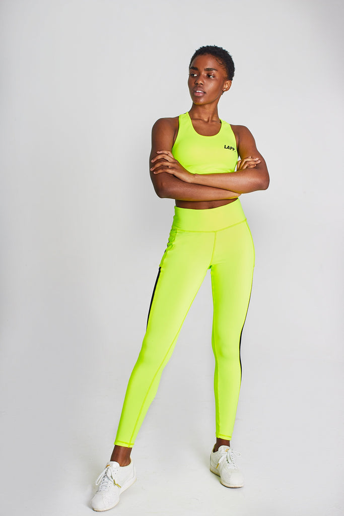 SERENA LEGGINGS [NEON YELLOW]