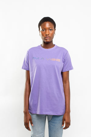 IM A VIBE TEE [PURPLE]