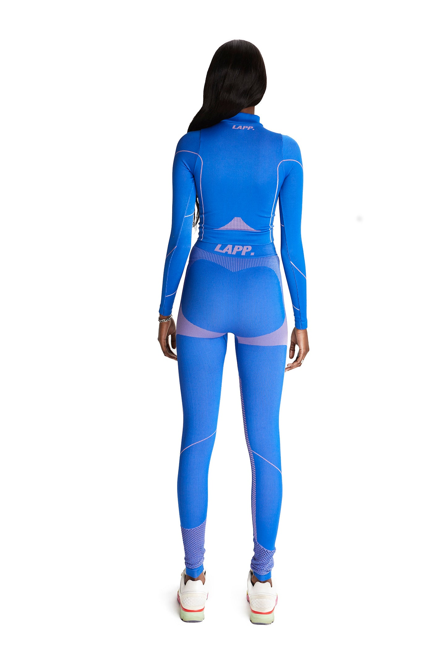 Seamless 1/2 zip jacket [3M/ Royal blue]