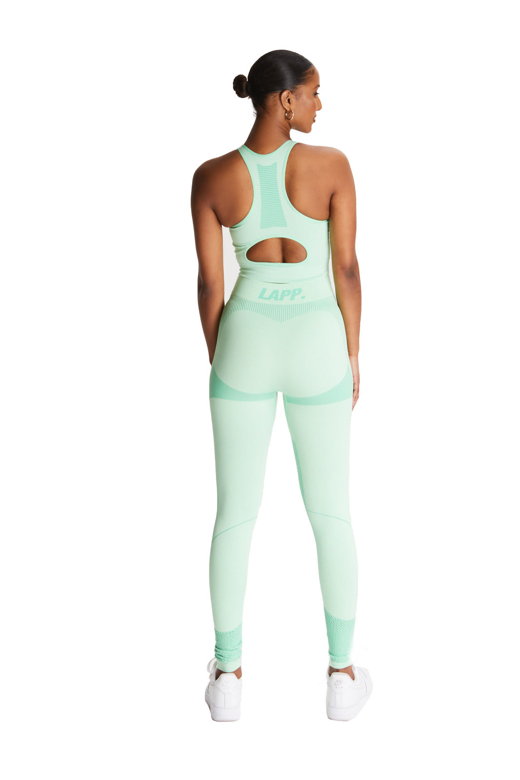 Seamless contour sports bra [Mint]