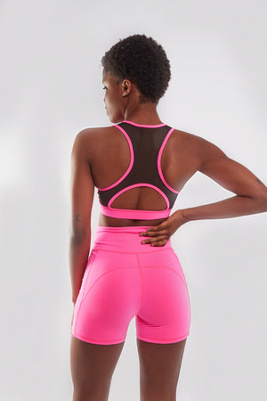 SERENA II SPORTS BRA [HOT PINK]